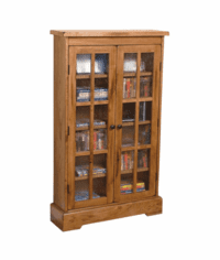 Arizona Rustic Oak CD/DVD Cabinet