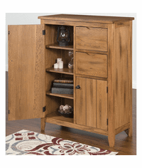 Arizona Rustic Oak Cupboard