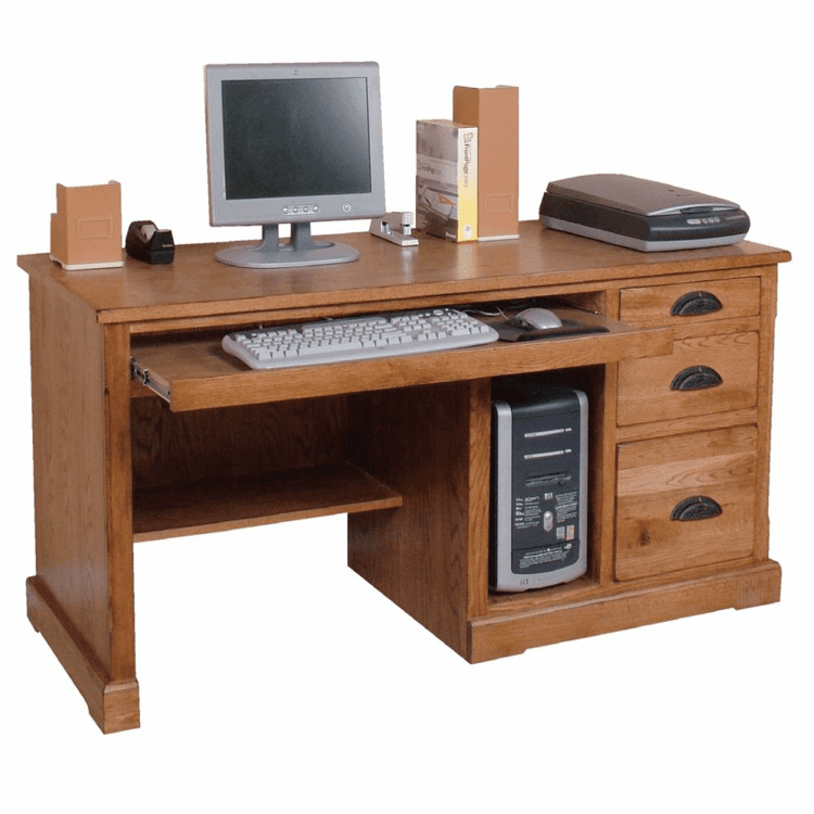 Arizona Rustic Oak Desk