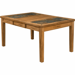 Arizona Rustic Oak Extension Dining Table