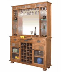 Arizona Rustic Oak Server