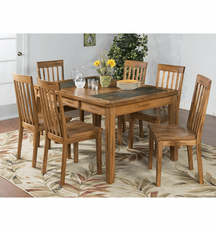 Extension Dining Table Set