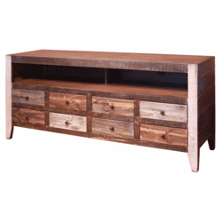 "Aspen Antique Multi Color 60"" TV Stand"