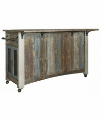 Aspen Antique Multi Color Kitchen Island