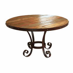 Aspen Antique Multi Color Round Table