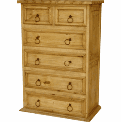 Bandera Rope Edge Pine Chest