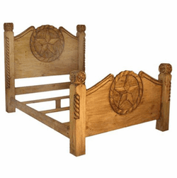 Bandera Rope & Star Bed Frame