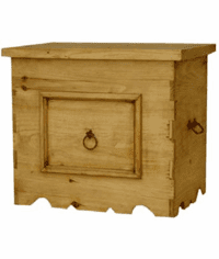 Boquilles Rustic End Table