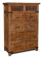 Montana Cabin Rustic Chest