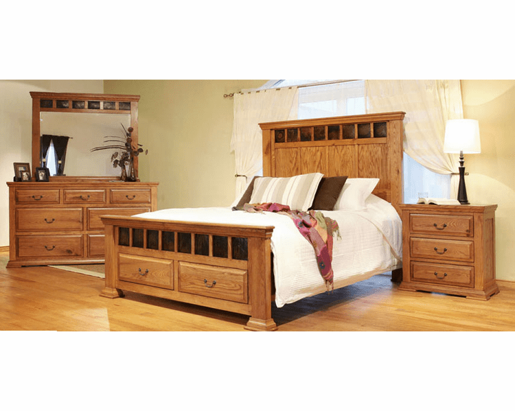 Rustic Oak Bedroom Set, Oak Bedroom Set, Oak Bedroom Furniture