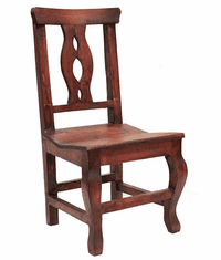 Cantina Rustic Chair Walnut