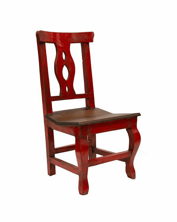 Cantina Rustic Red Chair