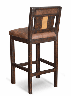 Copper Canyon Rustic Bar Stool Tall