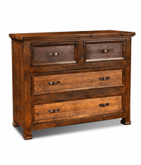 Copper Canyon Rustic Low Chest