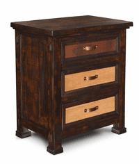 Copper Canyon Rustic Night Stand