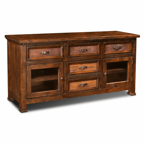 Copper Canyon Rustic TV Stand 66""