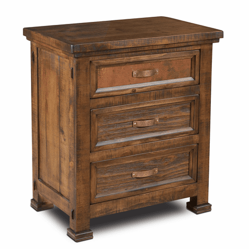 Copper Vista Night Stand