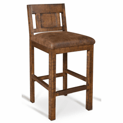 Copper Vista Rustic Bar Stool Tall