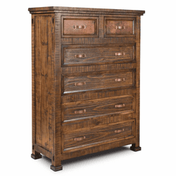 Copper Vista Rustic Chest