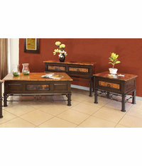 Cordoba Copper Table Top Set