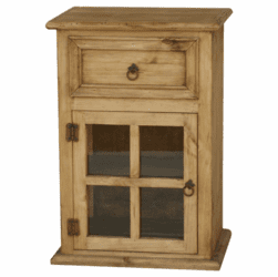 Corona Rustic Pine Wood Night Stand L