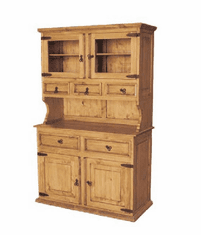 Corona Small Wood Hutch and Buffet