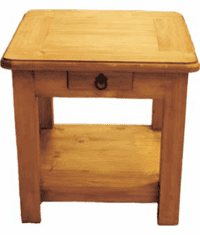 Corona Wood End Table