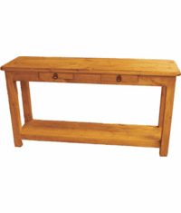 Corona Wood Sofa Table
