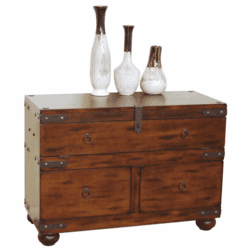 Durango 3 Drawer Sofa Table