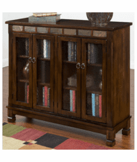 Durango 4 Door Bookcase