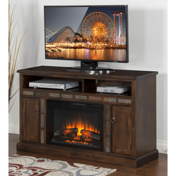 "Durango 54"" TV Stand With Fireplace"