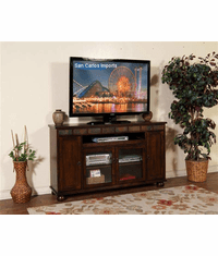 "Durango 62"" TV Stand w/ Pullout Tray"