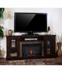 """Durango 70"""" TV Stand With Fireplace"""