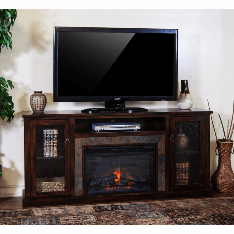 "Durango 70"" TV Stand With Fireplace"