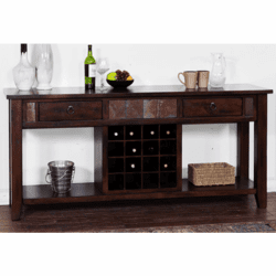Durango Buffet Server W/ Wine Rack