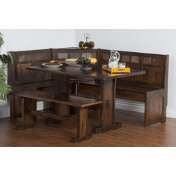 Durango Corner Breakfast Nook Set