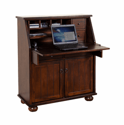 Durango Drop Leaf Laptop Desk Armoire