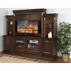 Durango Entertainment Center Wall Unit