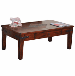Durango Rectangular Slate Coffee Table