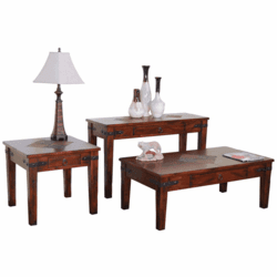 Durango Slate Top Occasional Table Set
