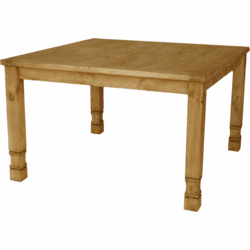 Durango Rustic Square Pine Pub Gathering Table
