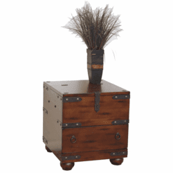 Durango Trunk End Table