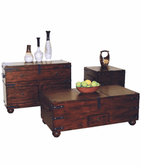 Durango Trunk Table Set