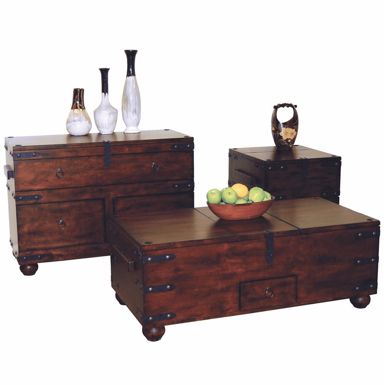Trunk Table Set Sofa Trunk Table Trunk Coffee Table