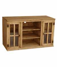 "El Paso 48"" Rustic Pine Wood TV Stand"