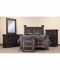 El Paso Rustic Bedroom Set