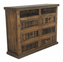 El Paso Rustic Bedroom TV Media Chest