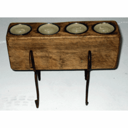 Four Hole Sugar Mold Candle Holder