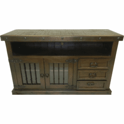 "Granada Rustic 60"" TV Stand W/ Drawers"
