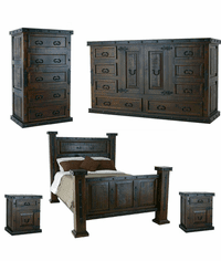 Granada Rustic Bedroom Set